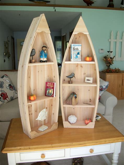 row boat shelf plans 4 foot unfinished row boat shelf bookcase bookshelf hand