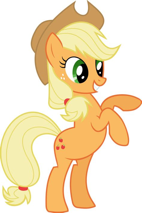 apple jack applejack vector by patec on deviantart