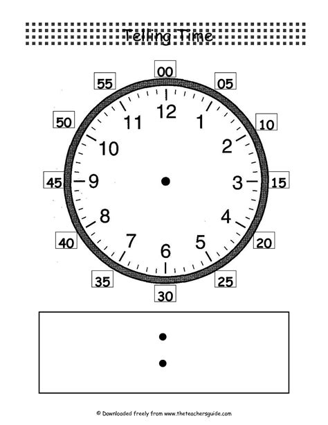 printable clock template with minutes best photos of clock face worksheet printable clock face