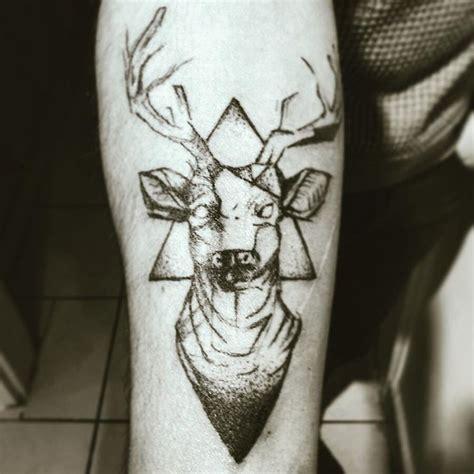 new school geometric tattoo 59 best geometric deer tattoos