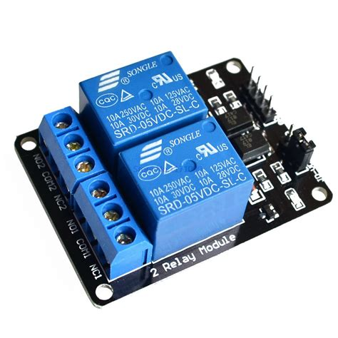 Modul Relay 2 Chanel 5 Volt Arduino 2 Channel 5v Relay Module Arduino Compatible