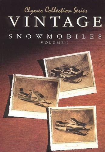 Vintage Snowmobile Manual Service Repair Manuals