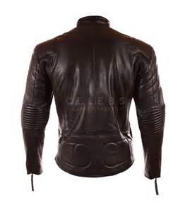 Leather Jacket Mens Mens Black Leather Motorcycle Jacket