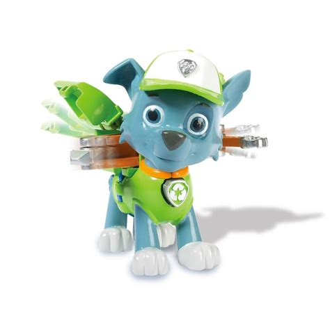 Paw Patrol Pack Pup Badge Rocky spin master paw patrol pack pup rocky