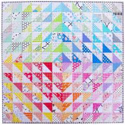 Triangle Patchwork Quilt Patterns by Pepper Quilts