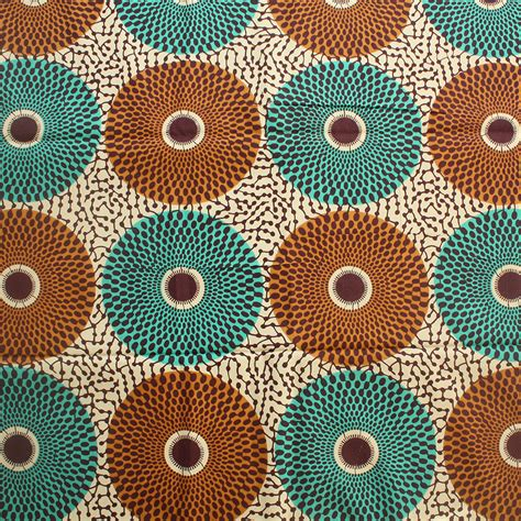 teal and brown upholstery fabric record ankara fabric brown and teal 1 yard urbanstax
