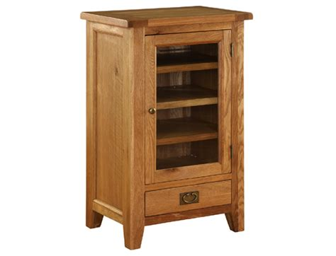 rustic dvd storage cabinet sherwood rustic oak hifi cabinet oak world
