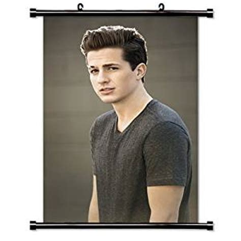 charlie puth zip amazon com charlie puth singer fabric wall scroll poster