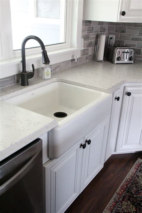 how to install a farmhouse sink can you install a farmhouse sink in existing cabinets