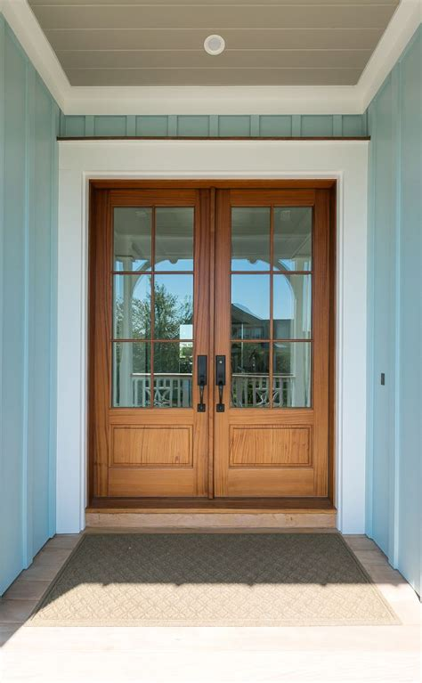 Exterior Ceiling Paint by Best 25 Entry Doors Ideas On Stained Front