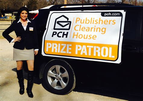 Publishers Clearing House Prize - new year new look pch upgrades their prize patrol van