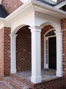 Traditional Chandeliers Porch Columns Traditional Entry Miami By
