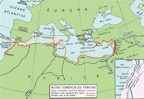 or 237 gen de la mapa de los fenicios la cultura fenicia historia universal