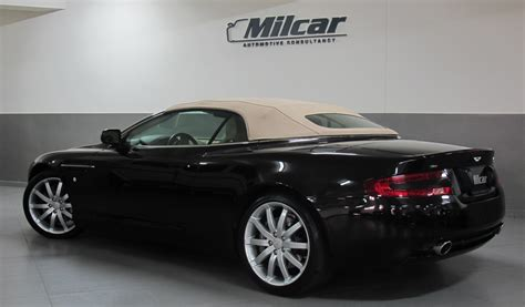 2006 aston martin db9 volante in black photo milcar automotive consultancy 187 aston martin db9