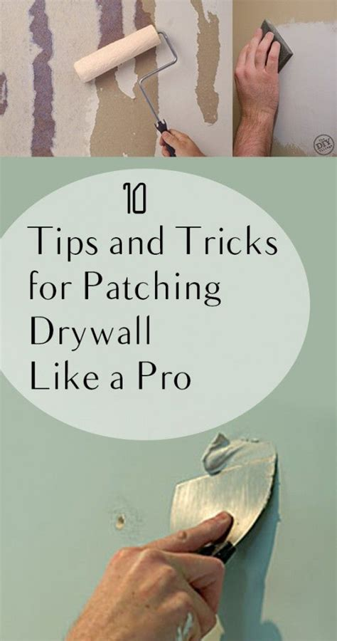 10 tips and tricks for patching drywall like a
