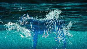 Awesome Wall Murals water tiger oilpaint by tehjep116 on deviantart