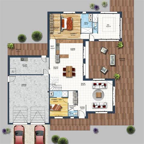 Plan De Maison 3 Chambres 3516 by Les 25 Meilleures Id 233 Es De La Cat 233 Gorie Maison Cubique Sur