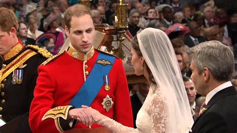 Royal Wedding William Kate Exchange Vows by Kate And William S Vows