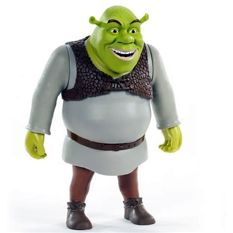 Figure Shrek 12 inch stretch n scream shrek