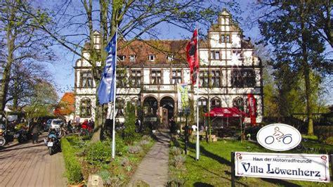 Motorradtouren Villa Löwenherz by Tourenplanung F 252 R Motorradfahrer Die Wesertour Zur Villa