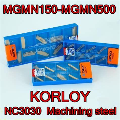 Insert Korloy Mgmn200 G Nc3030 Korloy Carbide Inserts Reviews Shopping Korloy