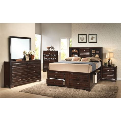 bedroom furniture sets queen stella 7 piece queen bedroom set rcwilley image1 800 jpg