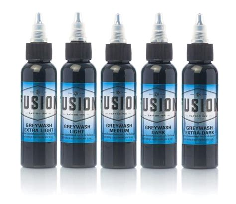 fusion tattoo ink fusion grey wash inks joker supply