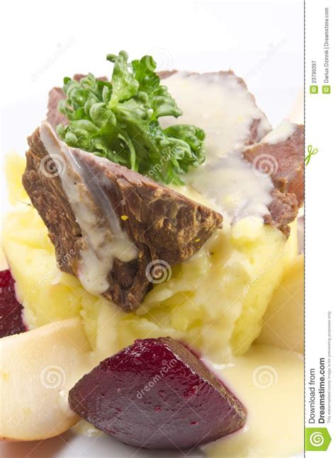 horseradish sauce for beef beef with horseradish sauce royalty free stock photography