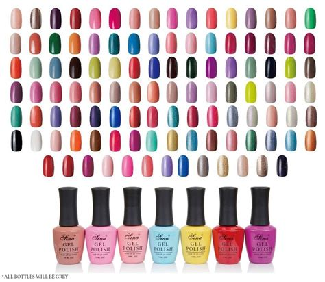 colors nail salon new soak uv led gel lasting colors for