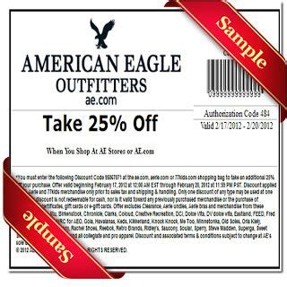 American Eagle Printable Coupons