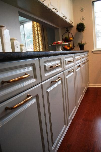 Painted Grey Kitchen Cabinets Gray Cabinets Design Ideas