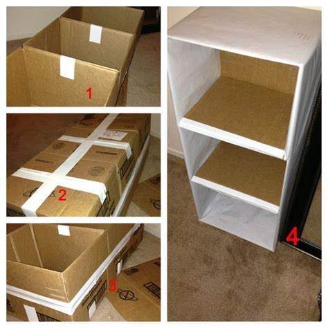 How To Make A Drawer Box Out Of Paper - diy shelf box pesquisa crafts