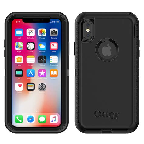 otterbox defender for apple iphone xs black