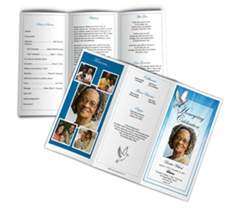 funeral phlet templates free obituray template obituary templates sle obituary