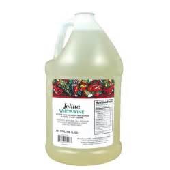 jolina 1 gallon white cooking wine 4 case