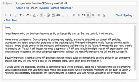Email To Recruiter For Search Recruiter Emails Images