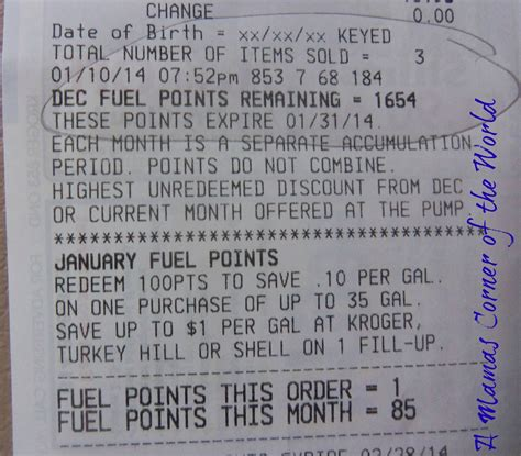 Kroger Bonus Fuel Points Gift Cards - mom money earning bonus fuel points from kroger on gift card purchases a mama s