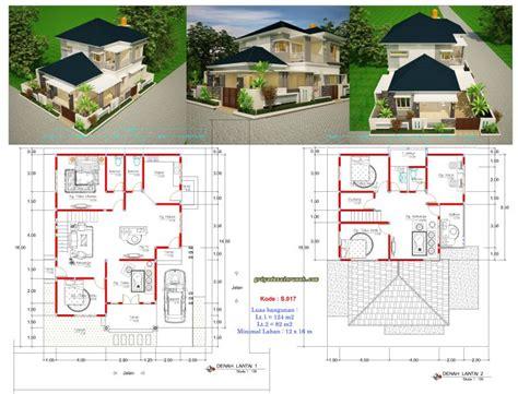 desain rumah lebar 12 meter rumah mewah 2 lantai hook lebar 12 meter jasa desain rumah