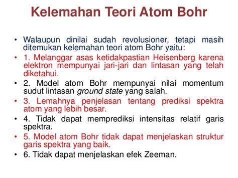 Kimia Kuantum Dasar tugas 5 dasar teori kuantum dan model atom bohr