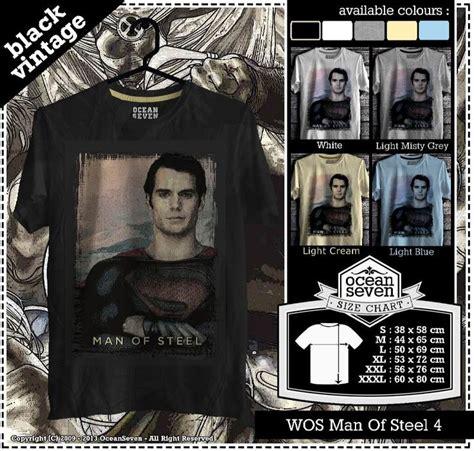Kaos Wos Wolverine 6 Oceanseven kaos of steel series 2 superman t shirt