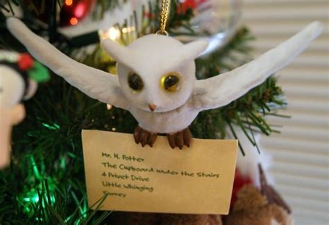 harry potter tree ornament christmas decorations pinterest