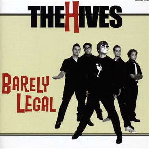 the hives the hives barely legal epitaph records
