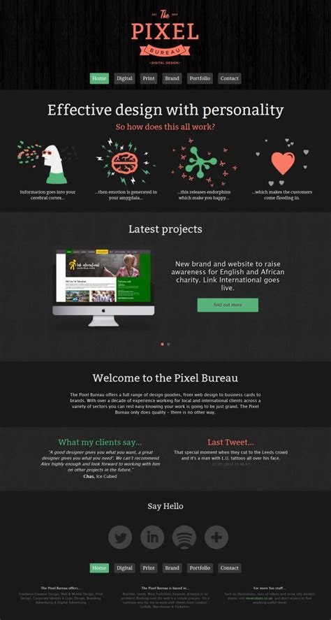 web design from home inspirational freelance web design the pixel bureau freelance creative design and digital