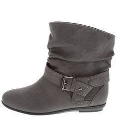 Strapped Turn Up Slouch Boots From Asoscom by Slouch Ankle Boots Ankle Boots And Suede Booties On