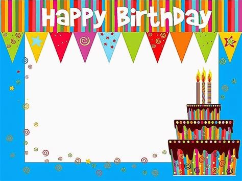 Happy Birthday Card Template Free by Birthday Cards Template Resume Builder