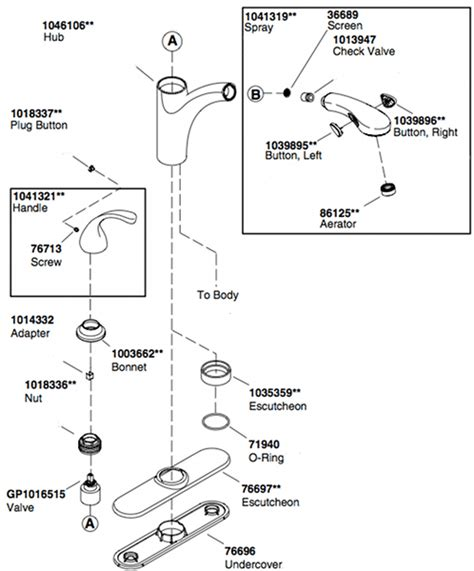 kohler kitchen faucet parts diagram kitchen sink faucet parts diagram interior design