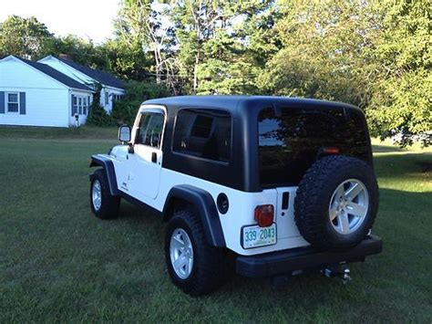 used jeep rubicon 4 door purchase used 2006 jeep wrangler unlimited rubicon sport