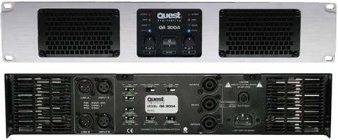 Power Lifier Quest Qa 1004 2 Channel 575w Power Lifier Quest Engineering Av Iq Australia