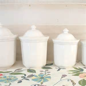 White Kitchen Canister Sets Ceramic Best Kitchen Canister Sets Products On Wanelo