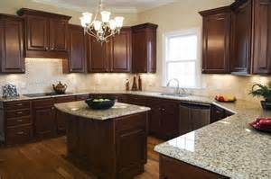 floors cabinets light granite counter tops